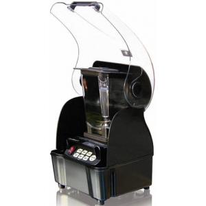 Блендер, стакан поликарбонат 1.50л, 3 скорости, пульсовый режим, звукопоглощающ кожух, черный