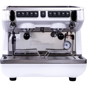 Кофемашина-автомат, 2 группы (выс.), бойлер  7.5л, белая, экономайзер