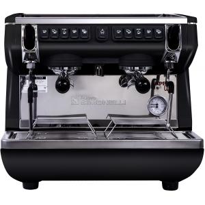 Кофемашина-автомат, 2 группы (выс.), бойлер  7.5л, черная, экономайзер