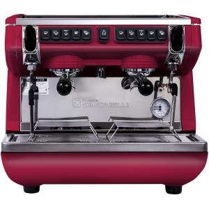 Кофемашина-автомат, 2 группы (выс.), бойлер  7.5л, красная, экономайзер