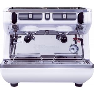 Кофемашина-полуавтомат, 2 группы (выс.), бойлер  7.5л, белая, экономайзер