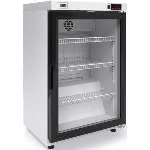 Шкаф холодильный для икры,   60л, 1 дверь стекло, 3 полки, ножки,  -6/+6C, дин.охл., белый