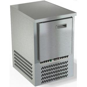 Стол холодильный, GN2/3, L0.57м, без борта, 1 дверь глухая, ножки, -2/+10С, нерж.сталь, дин.охл., агрегат нижний