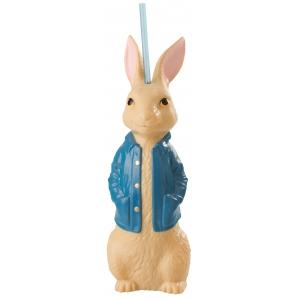 Стакан пласт. д/напитков фигурный, коллекционный «Кролик Питер 2», 22 ун./Blowmold Cup 22 oz. «Peter Rabbit 2»