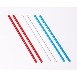 Трубочка-размешиватель для горячих напитков D 4,3мм L 150мм ПП цветная