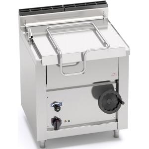 Сковорода электрическая опрокидываемая,  60л, опрокидывание ручное, нерж.сталь