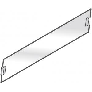 Стекло фронтальное для настольной конструкции, L0.80м, без опор, серия SELF 700