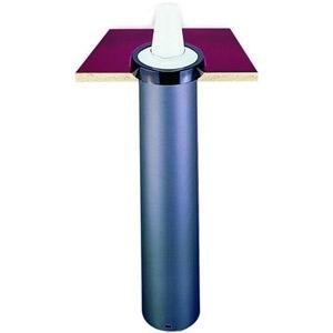 Диспенсер для стаканов 236-1360мл, D73/121мм, встраиваемый (б/у (бывший в употреблении))