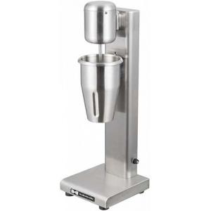 Миксер для коктейлей, 1 рожок, 1 стакан 1.0л нерж.сталь, 2 скорости, корпус алюминий