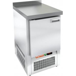 Стол морозильный, GN1/1, L0.57м, борт H50мм, 1 дверь глухая, ножки, -10/-18С,  пластификат, дин.охл., агрегат нижний, столешница нерж.сталь