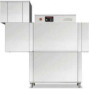 Машина посудомоечная конвейерная, 500х500мм,  70-100кор/ч, реверсивная, правая, гор.вода, без дозаторов, сушка 4.5кВт, защита от брызг