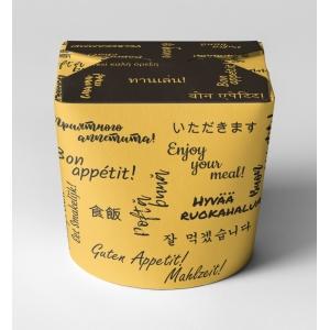 Контейнер универсальный 500/700мл Bon Appetit бумага
