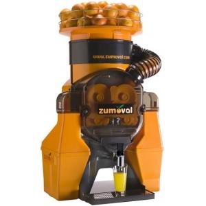Соковыжималка для цитрусовых, электрическая, настольная, автоматическая, 28шт./мин, электронное управление, бункер, оранжевая, кран нерж.сталь, авт.мо