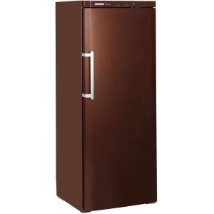 Шкаф холодильный для вина бытовой, 312бут., 1 дверь глухая, 6 полок, ножки, +5/+20С, терра, 1 температурная зона