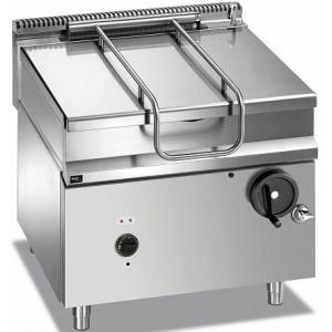 Сковорода опрокидываемая электрическая,  80л, ручное опрокидывание, нерж.сталь