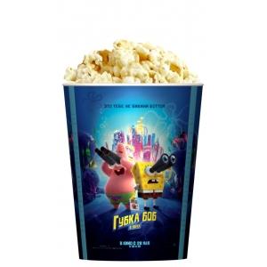 V 32 Стакан для попкорна «Губка Боб в бегах»