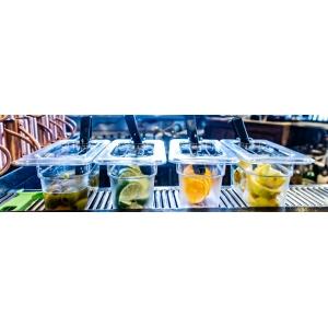 Крышка для гастроемкости GN1/9, поликарбонат
