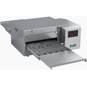 Печь для пиццы электрическая, конвейерная, 1 камера 524х410мм, электронное управление, нерж.сталь, настольная