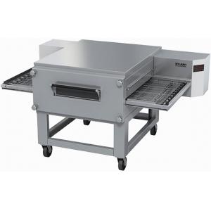 Печь для пиццы электрическая, конвейерная, 1 камера 920х850х145мм, электронное управление, нерж.сталь, подставка передвижная
