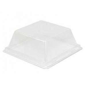 Крышка (набор 200шт) для блюда Square, пластик прозрачный