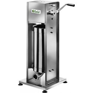 Аппарат для набивки колбас механический настольный, бункер  7л, вертикальный, нерж.сталь, 3 насадки, 2 скорости