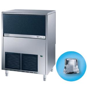 Льдогенератор для кускового льда,  80кг/сут, бункер 40.0кг, вод.охлаждение, корпус нерж.сталь, форма «кубик» A
