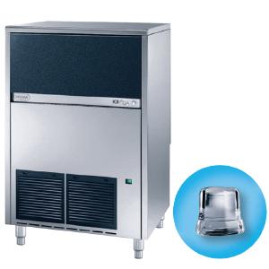 Льдогенератор для кускового льда,  90кг/сут, бункер 55.0кг, вод.охлаждение, корпус нерж.сталь, форма «кубик» A