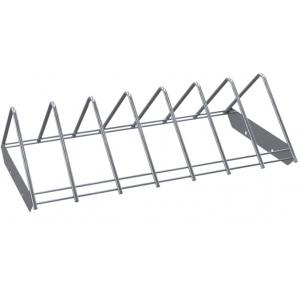 Полка решетчатая для шкафа дезинфекционного ШЗДП-4- 950-02,  878х237х132мм, для разделочных досок, вместимость 14шт., пруток нерж.304