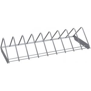 Полка решетчатая для шкафа дезинфекционного ШЗДП-4-1200-02, 1106х237х132мм, для разделочных досок, вместимость 18шт., пруток нерж.304
