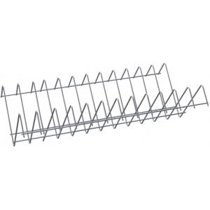 Полка решетчатая для шкафа дезинфекционного ШЗДП-4- 950-02,  878х237х120мм, для крышек, вместимость 24шт., пруток нерж.304