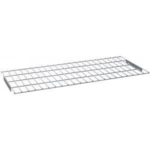 Полка решетчатая для шкафа дезинфекционного ШЗДП-4- 950-02,  878х237х21мм, для стаканов и столовых приборов, пруток нерж.304