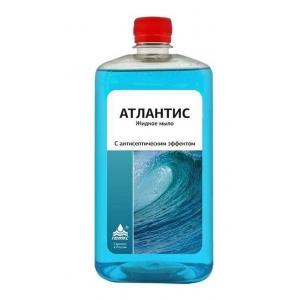 Мыло жидкое с антисептическим эффектом АТЛАНТИС (Геникс) 1л
