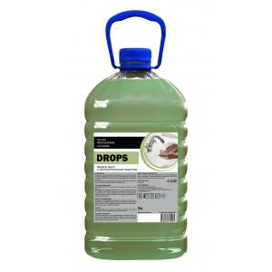 Мыло жидкое с антисептическим эффектом Drops 5л