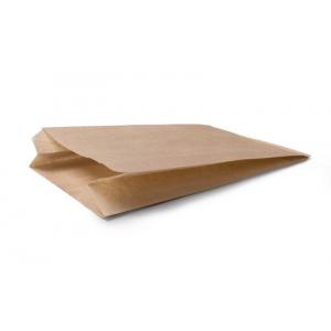 Пакет бумажный 300х170х60мм плоское дно крафт