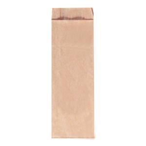 Пакет бумажный 640х100х50мм плоское дно крафт