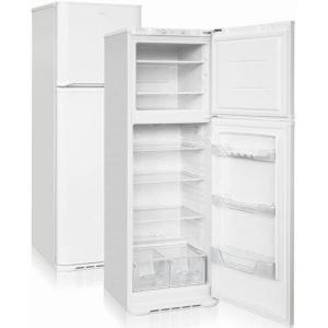 Шкаф комбинированный бытовой, 320л, 2 двери глухие, 4 полки, ножки, 0/+8С и -18С, белый, верхняя морозилка, R600а, класс А