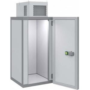Камера холодильная Шип-Паз,   1.44м3, h2.12м, 1 дверь расп.универсальная, ППУ80мм, потолочный моноблок (-5/+5С), без полок
