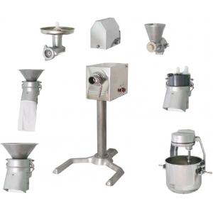Машина универсальная кухонная напольная: насадки (полный комплект), привод ПМ, подставка П-01, нерж.сталь