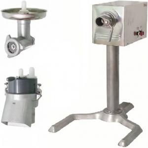 Машина универсальная кухонная напольная: насадки (мясорубка ММ+овощерезка МО-01), привод ПМ, подставка П-01, нерж.сталь