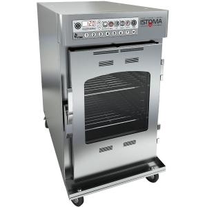 Печь низкотемпературного приготовления электрическая, функция копчения, термощуп,  8GN1/1, 100л (б/у (бывший в употреблении))
