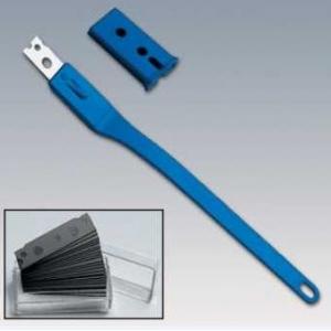 Надрезатель одноразовый L 25см, синий пластик