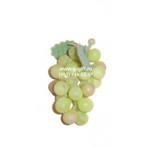 Виноград гроздь L 5см, резина зеленый матовый