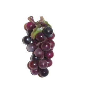 Виноград гроздь L 5см, резина зеленый темный
