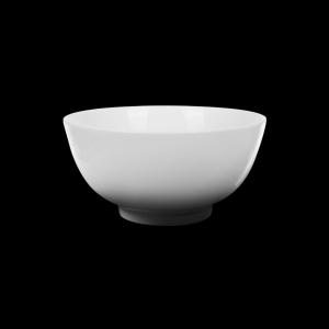 Салатник 400 мл Chan Wave, фарфор молочный