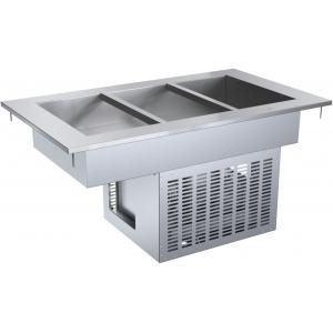 Ванна холодильная встраиваемая, L1.20м, 3GN1/1, -2/+10С, нерж.сталь
