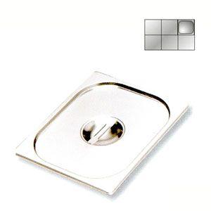 Крышка для гастроемкости GN1/6, нерж.сталь