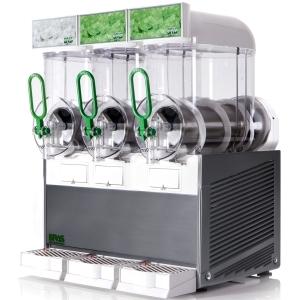 Аппарат для замороженных напитков (гранитор), 3 ванны по 10л (б/у (бывший в употреблении))