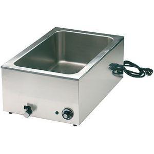 Мармит электр., 1 ванна 1GN1/1, паровой, настольный (б/у (бывший в употреблении))