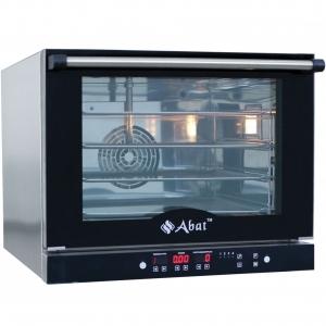 Печь электрическая конвекционная,  4х(460х330мм), управление электронное, корпус нерж.сталь, 220V, увлажнение (Без оригинальной упаковки)