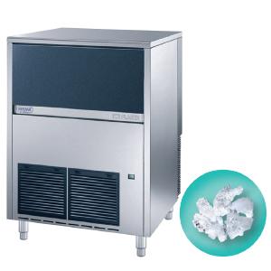 Льдогенератор для гранулированного льда,  150кг/сут, бункер 40.0кг, вод.охлаждение, корпус нерж.сталь